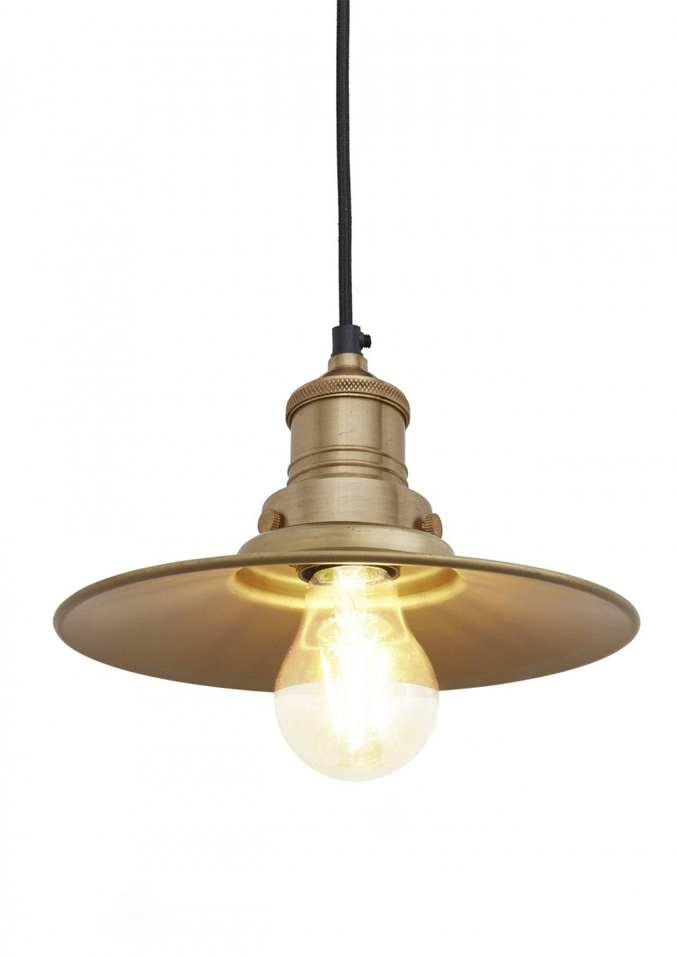 This stylish brooklyn antique flat industrial pendant light by