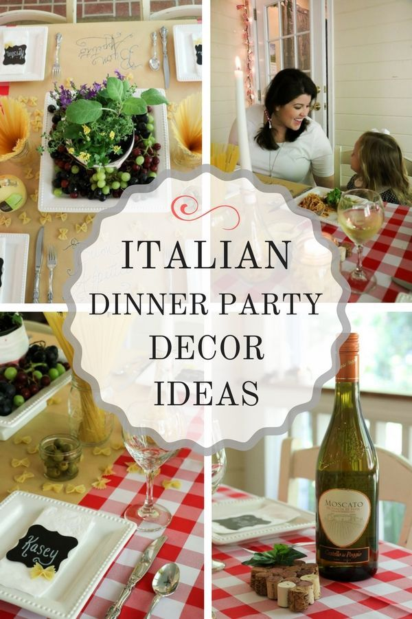 You won   believe how easy this party decor is until see post it has fun decoration ideas and tips that are simple also italian dinner styling inspiration home recipes rh za pinterest