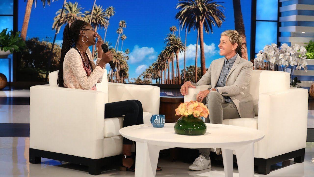Ellen Taught This Fan How to Speak English Margot robbie