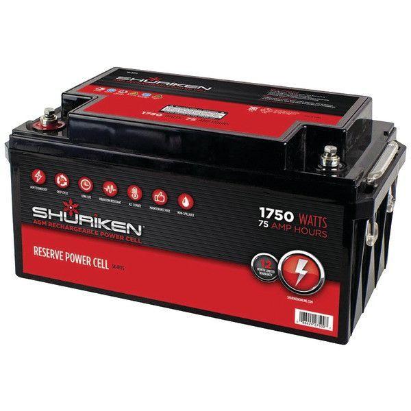 Shuriken Sk-Bt75 Battery (75 Amps, 1,750 Watts)