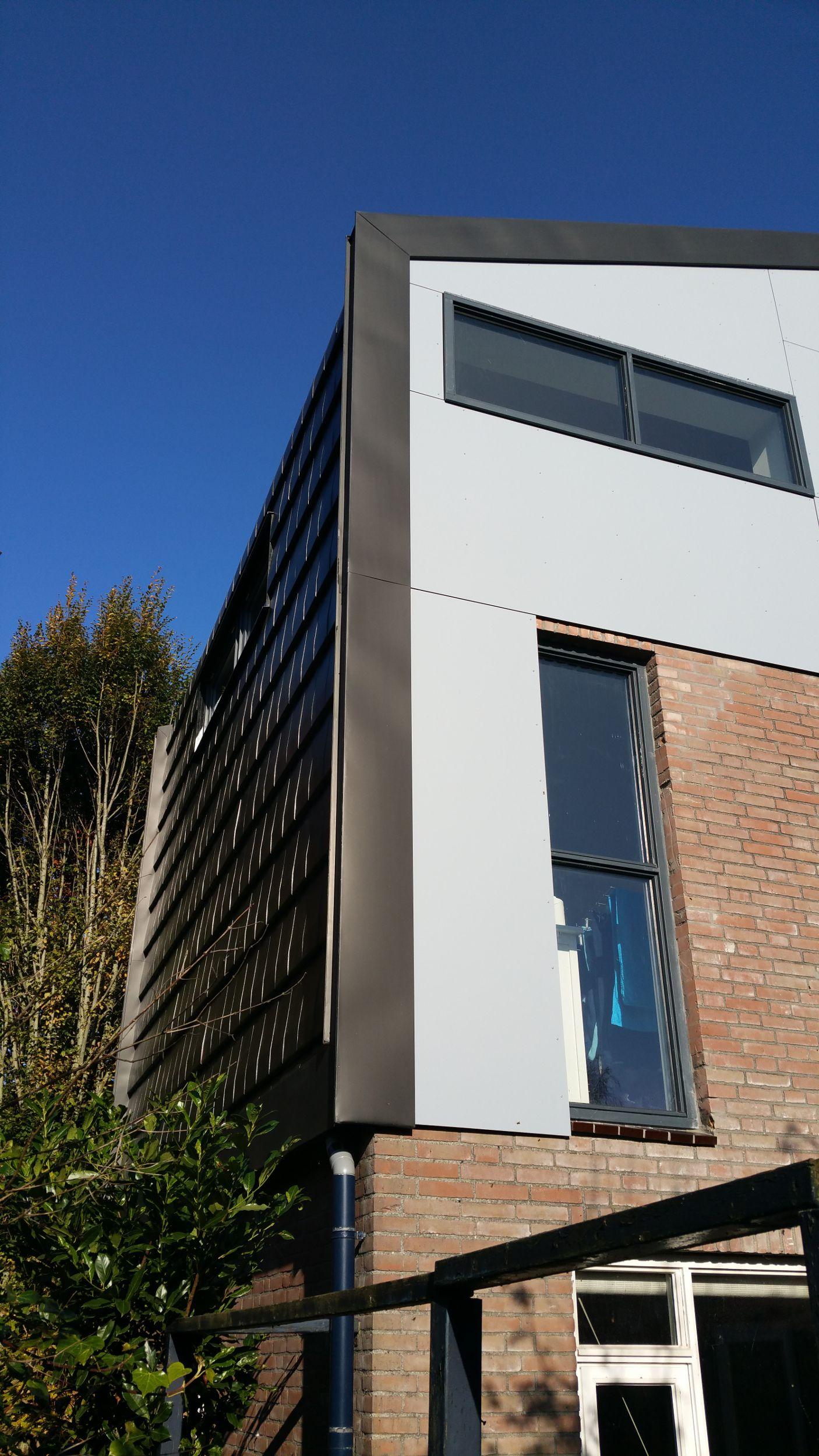 Afbeeldingsresultaat voor dak zink opbouw
