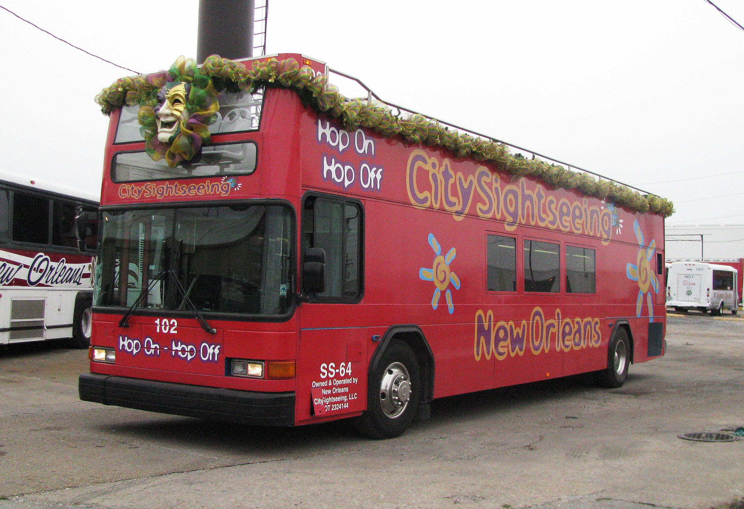 Hop On And Hop Off As You Wish On A City Sightseeing Tour Nola New Orleans Service Trip Tours New Orleans