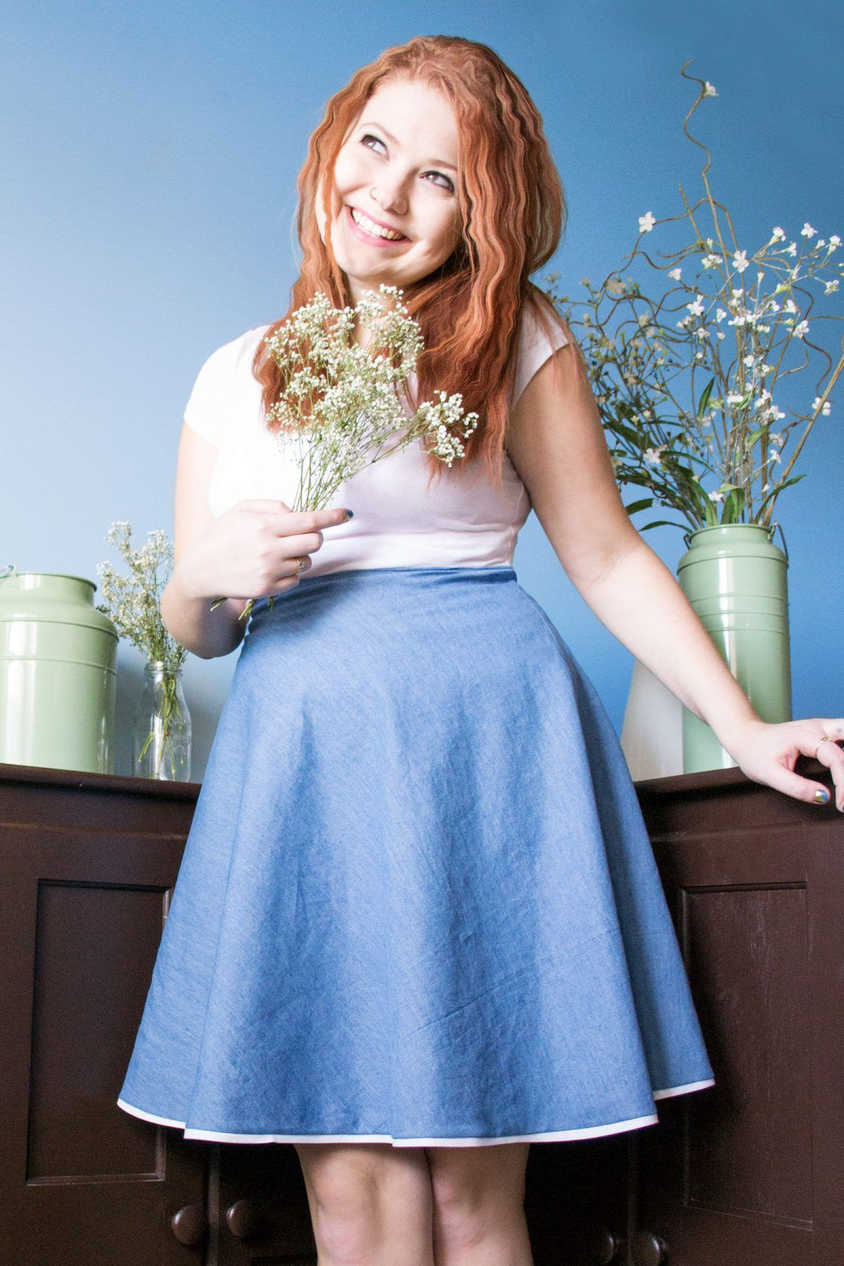 Diy denim skirt learn how to sew your own clothes for