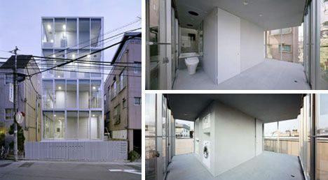 small space japanese apartment.. and it all boils down to minimalism ...