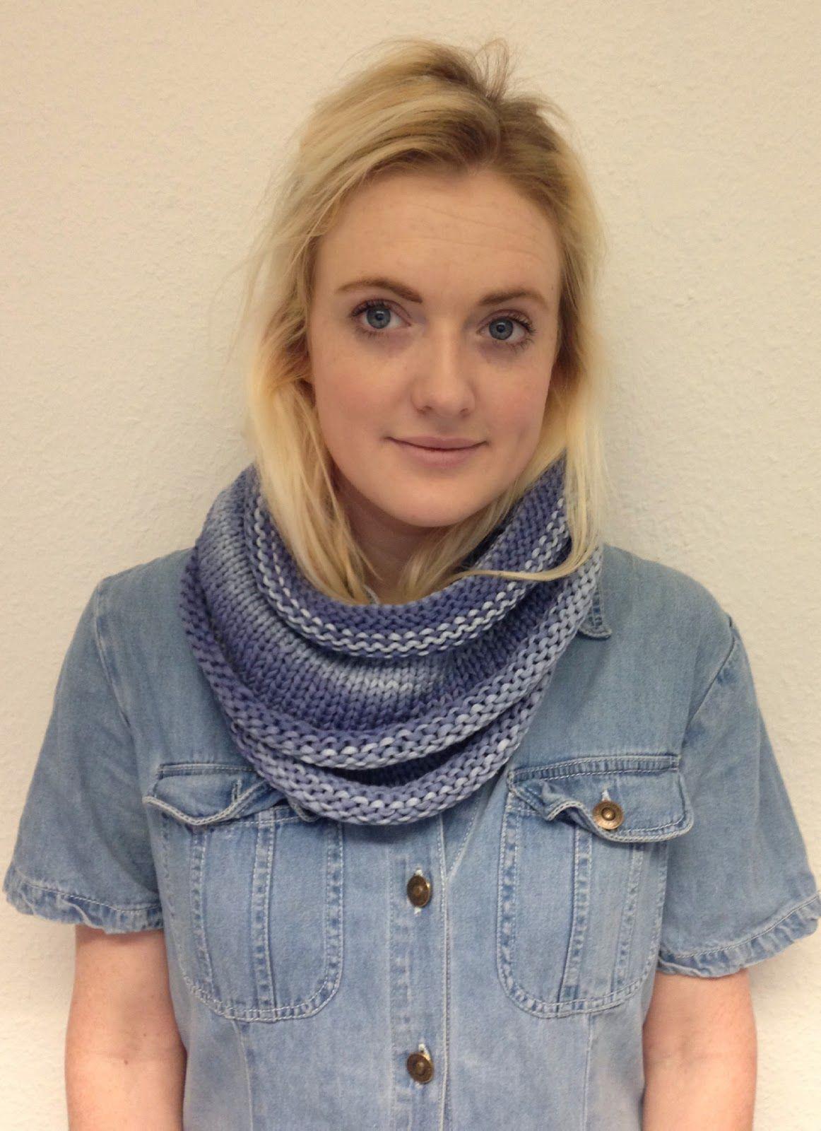 Debbie Bliss Delphi free knitting pattern cowel, snood, scarf