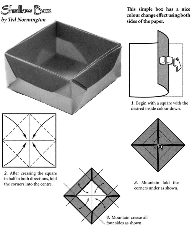Decorative Boxes How To Make Decorative Origami Boxes