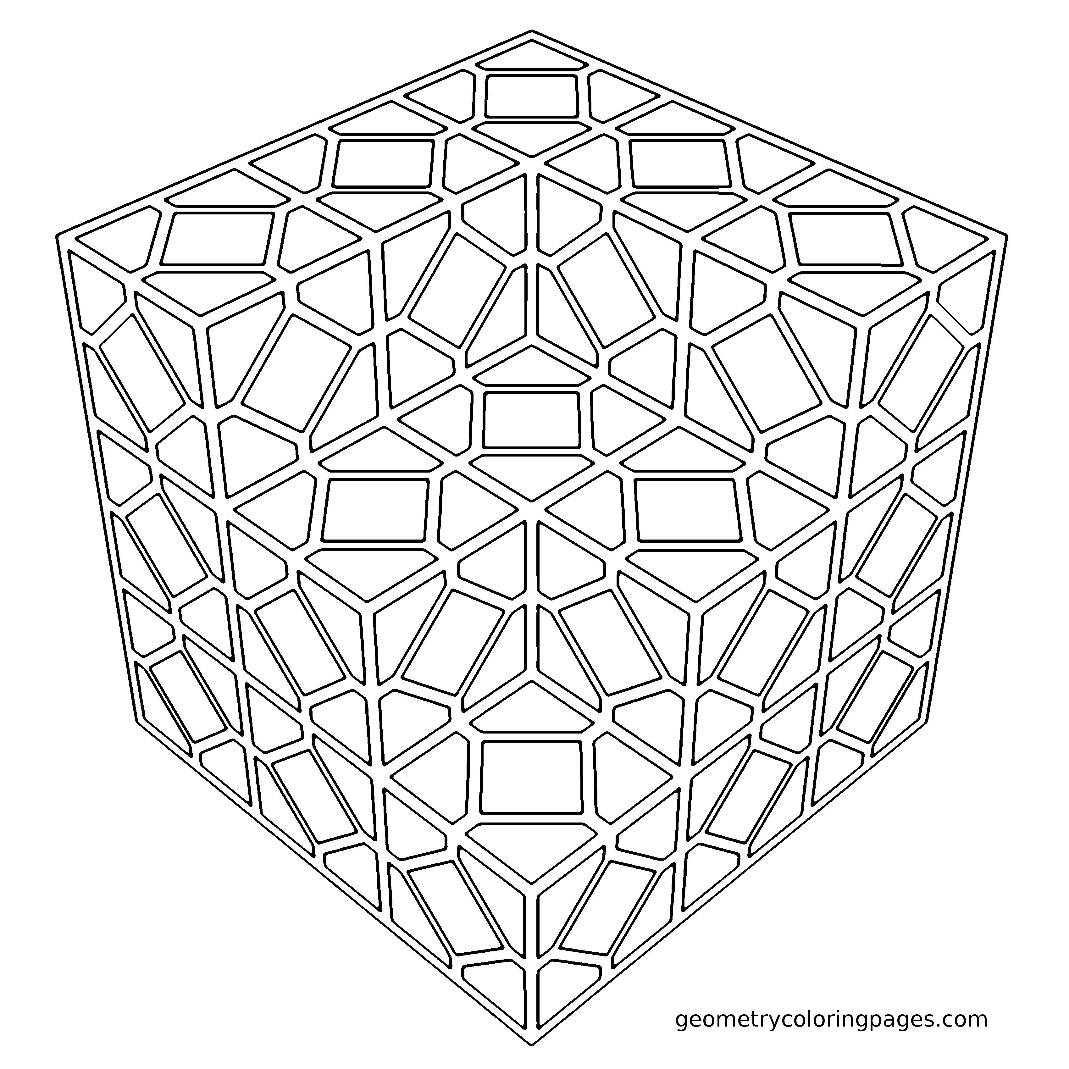 Coloring Page, Tiled from geometrycoloringpages.com | Cool Ideas ...