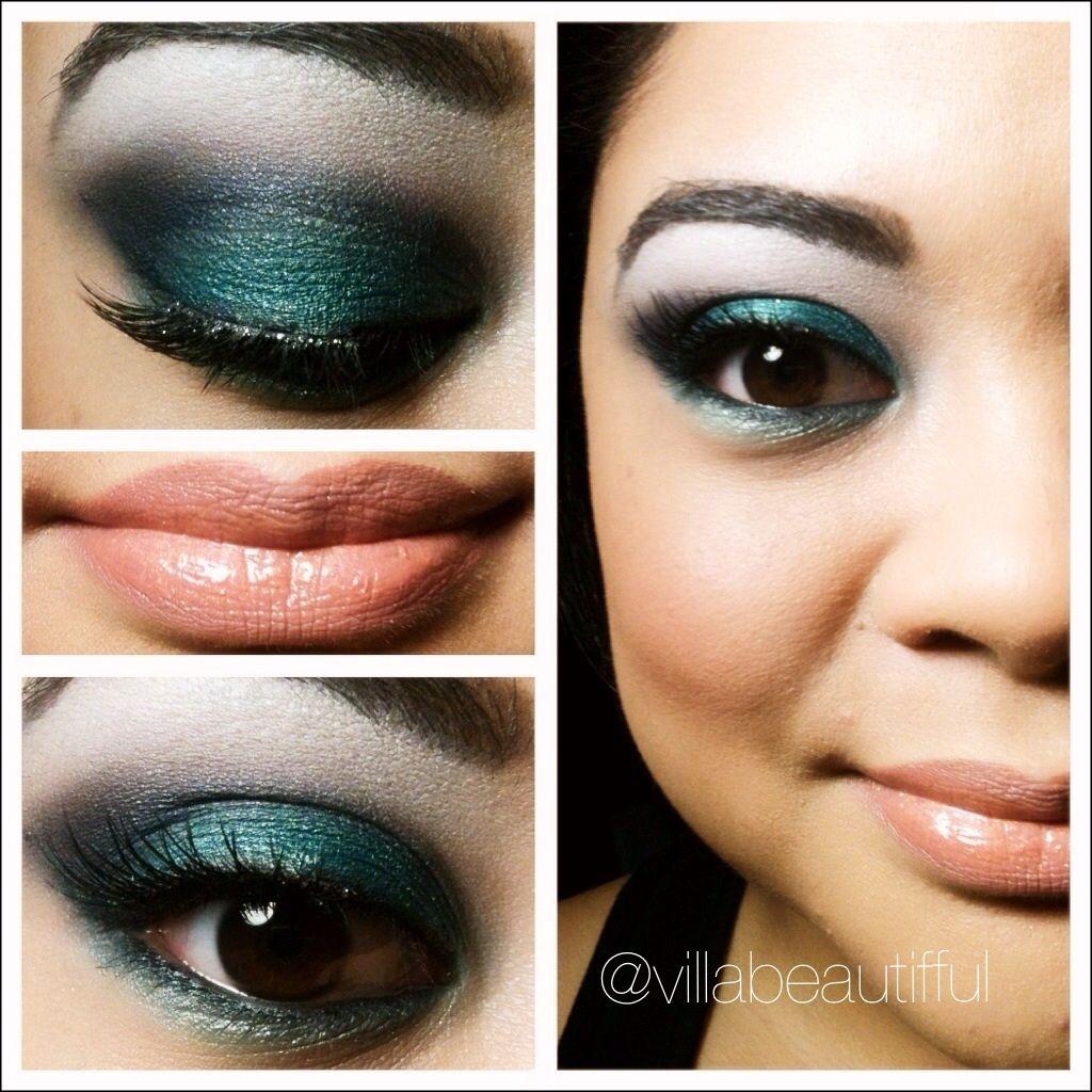 Pin By Villabeautifful On Makeup Teal Makeup White Eyeshadow Makeup [ 1024 x 1024 Pixel ]