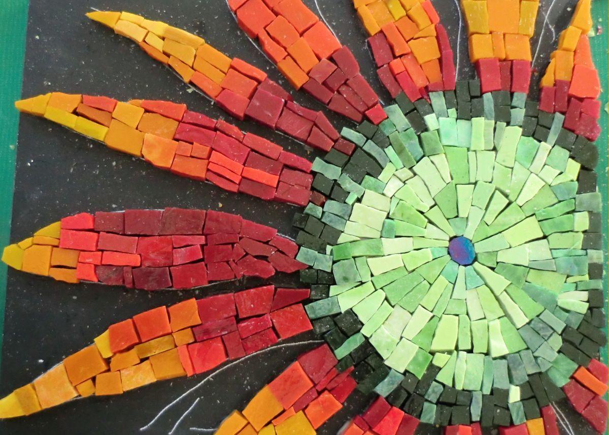 Smalti Mosaic Mexican Smalti Workshop Santa Barbara
