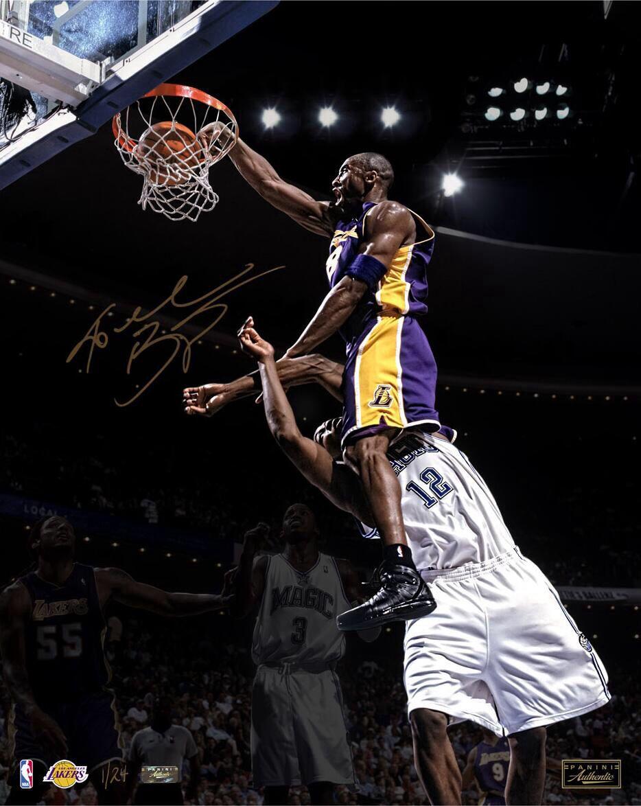 Kobe Dunking on Dwight Howard 2K6' Ballers Corner
