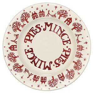 EMMA BRIDGEWATER CHRISTMAS TOWN MINCE PIE PLATE  sc 1 st  Pinterest & EMMA BRIDGEWATER CHRISTMAS TOWN MINCE PIE PLATE   CHINA PIE PLATES ...