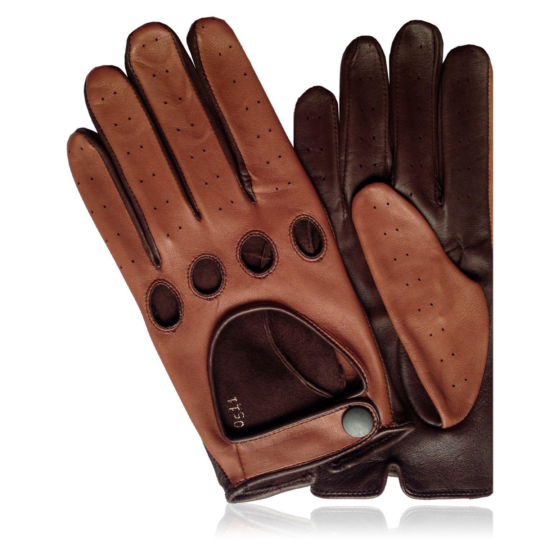 Gaspar leather driving gloves - Guantes Drive Driving Guantes Para Hombre Conducci N Leather Driving Glovesleather
