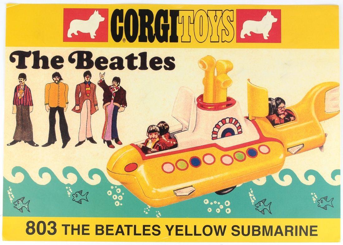 Corgi Promotional 803 Beatles Toys Shopkeeper's Yellow Submarine QdCeBWxor
