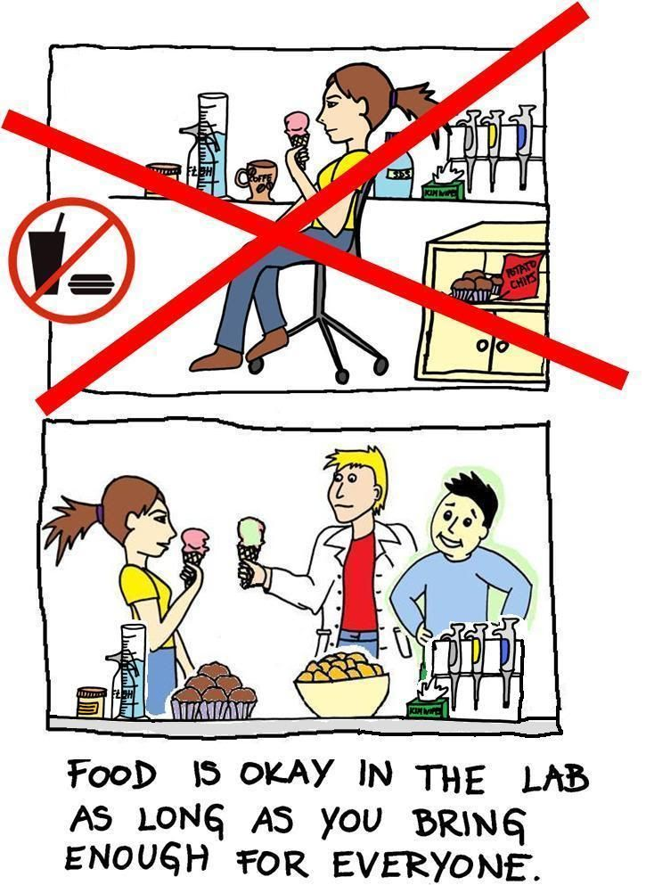 DNA lab: Lab Safety Rule No. 1 | i fucking love science ...