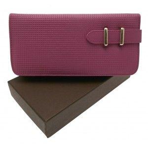 Lilac leather purse £15