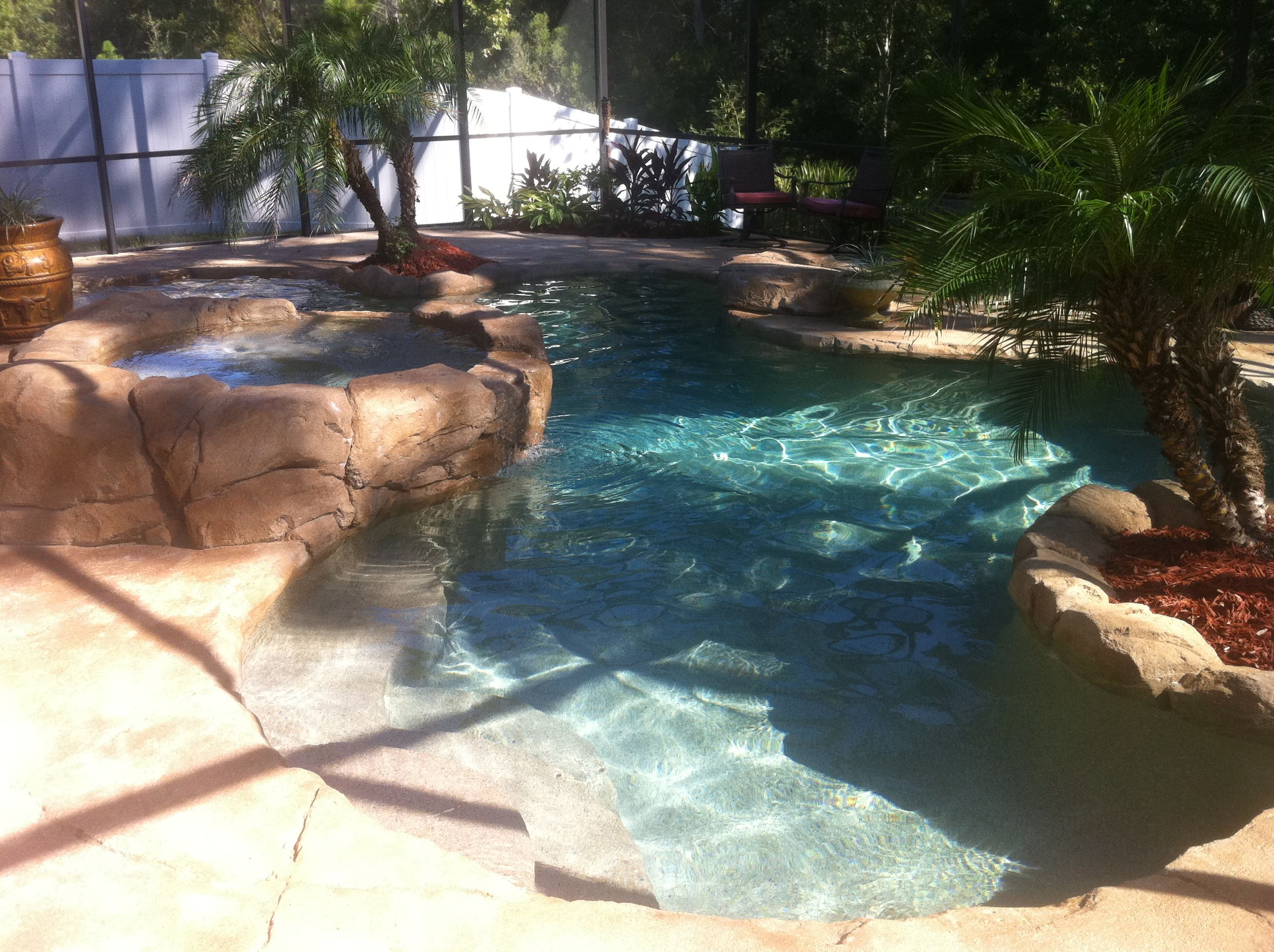 A Lagoon Style Pool Will Sometimes Have Much More Dramatic Curves That Flow In And Out A Lot