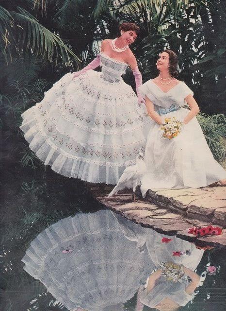 Balenciaga and Griffe 1955
