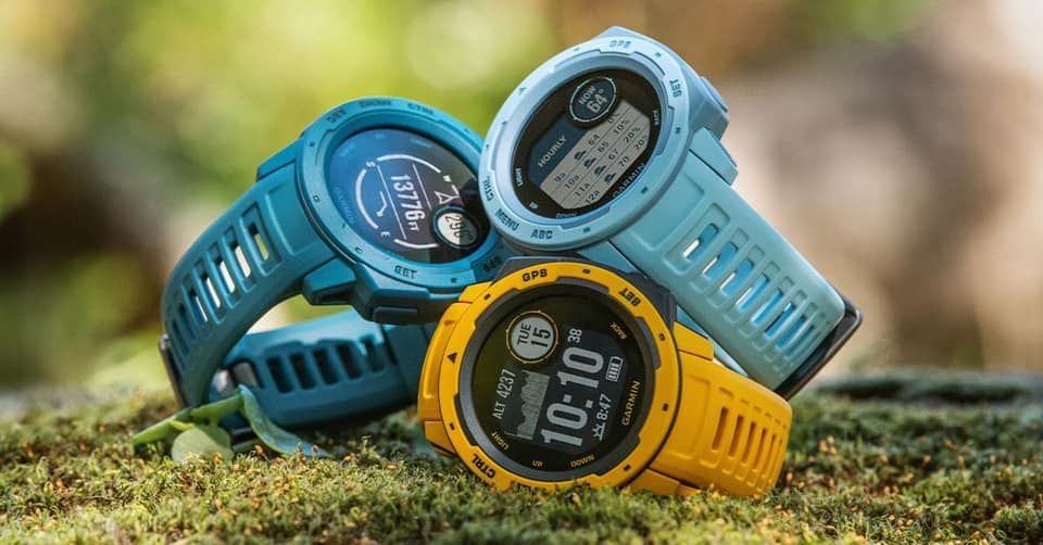 The new Garmin Instinct colours are about to be released