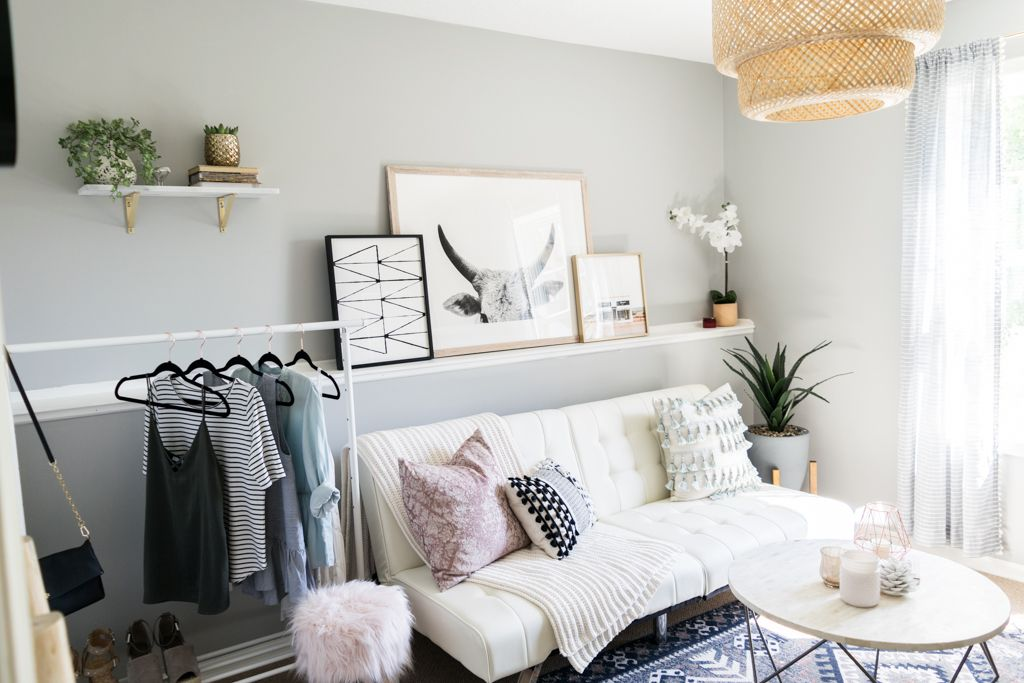 Minted art gallery urban outfitters hana kilim printed rug west elm origami table · office inspooffice decorhome