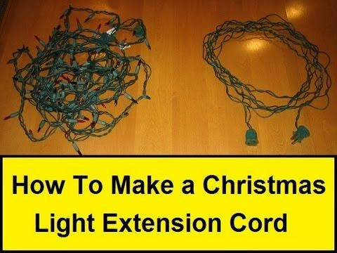 How To Make A Christmas Light Extension Cord All Christmas Light Extension Cord Christmas Tree Extension Cord Exterior Christmas Lights
