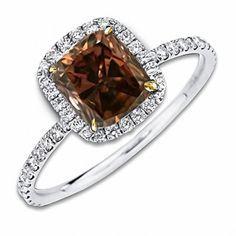 chocolate diamonds engagement rings Google Search Jewlery