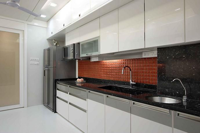 Compact And Easy To Run But Often Tight On Space Singleline Fair Compact Modular Kitchen Designs Inspiration