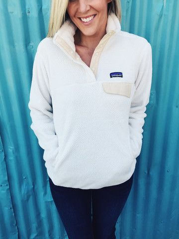 Patagonia Women S Re Tool Snap T Pullover Raw Linen
