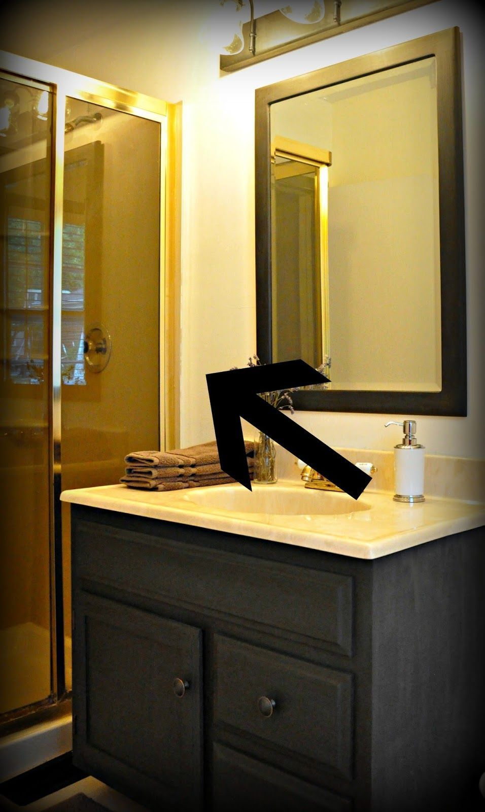 Photo of Serendipity Refined Blog: How To Update Oak And Brass Bathroom Faucets With Spr …