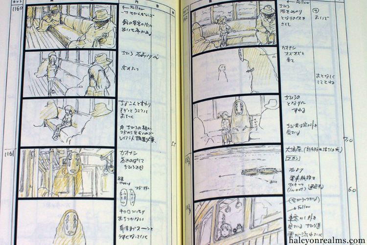 The Art Of Spirited Away  Storyboard Book Review  Storyboard