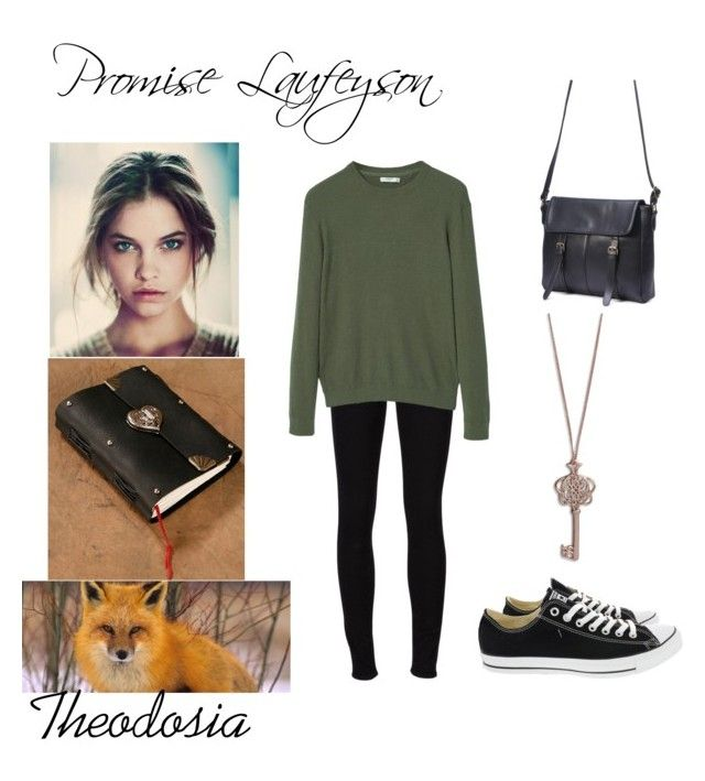 """""""Untitled #60"""" by childofthenight on Polyvore featuring Frame, MANGO, Converse and Vera Bradley"""