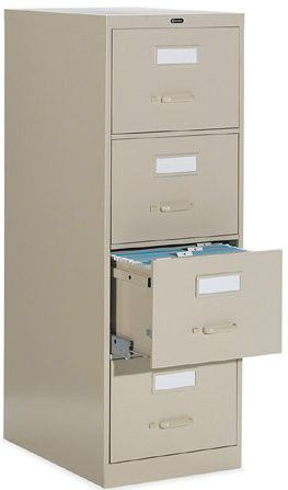 New 4 Drawer Vertical File Cabinet Legal Size