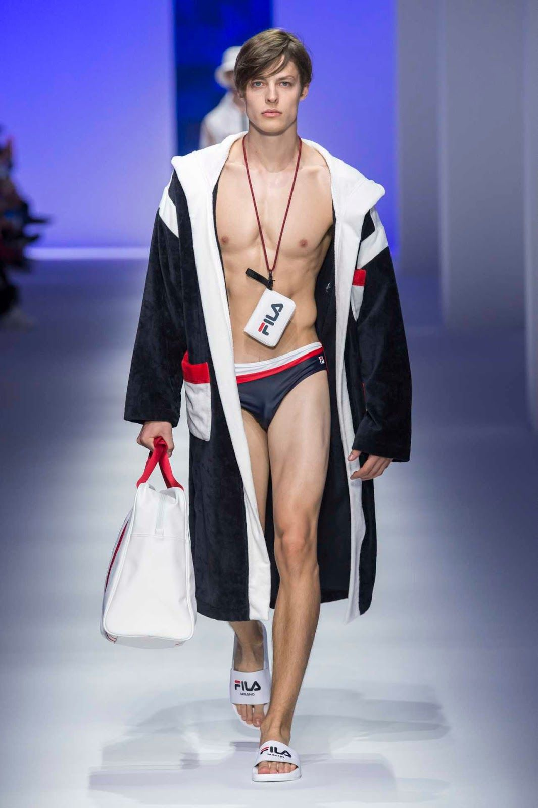 97e9dc488f6f Male Fashion Trends  Fila Spring-Summer 2019 Runway Show