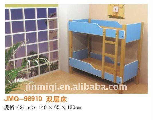 Cama litera para ni os los ni os de la cama de madera for Literas de madera para ninos