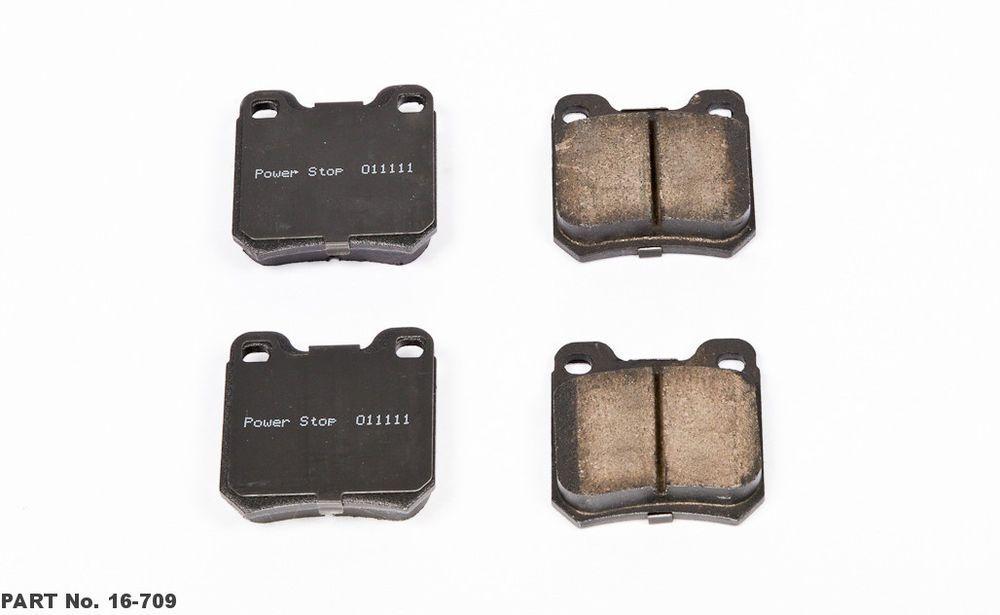 Powerstop Ceramic Rear Disc Brake Pads 97 03 Catera Saab 9 3 Saturn Ls 16 709 Powerstop Power Stop Brake Pads Performance Brakes