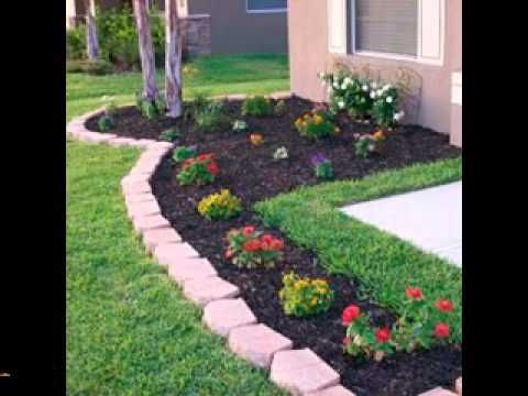 Quick diy landscaping projects strategies gardens for Cheap diy garden edging