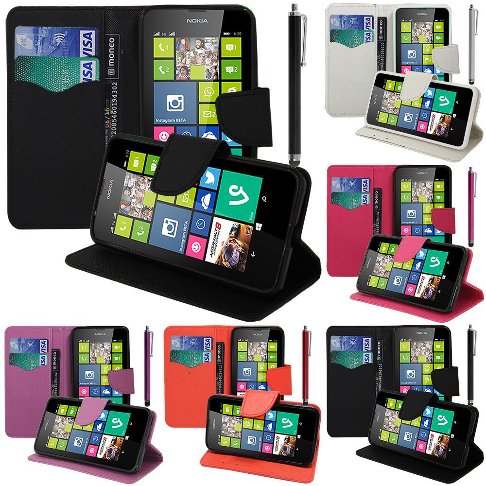 100% authentic a216c 01acc 2.15 GBP - Cover Case Walet Silicone Pu Effect Fabric Gel Nokia ...