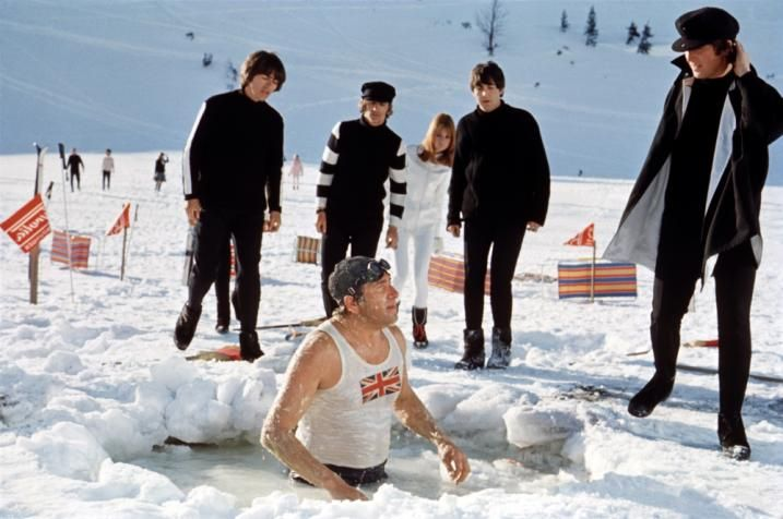Image result for help! the beatles 1965 swimmer