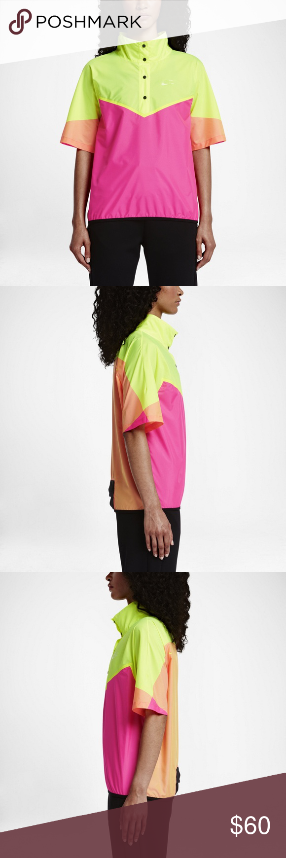 dc02f37594 Nike NikeLab X Kim Jones Packable Windrunner Top Nike NikeLab X Kim Jones  Packable Windrunner Top Style/Color: 837939-639 Size: XL Retail: $185 Pink,  ...