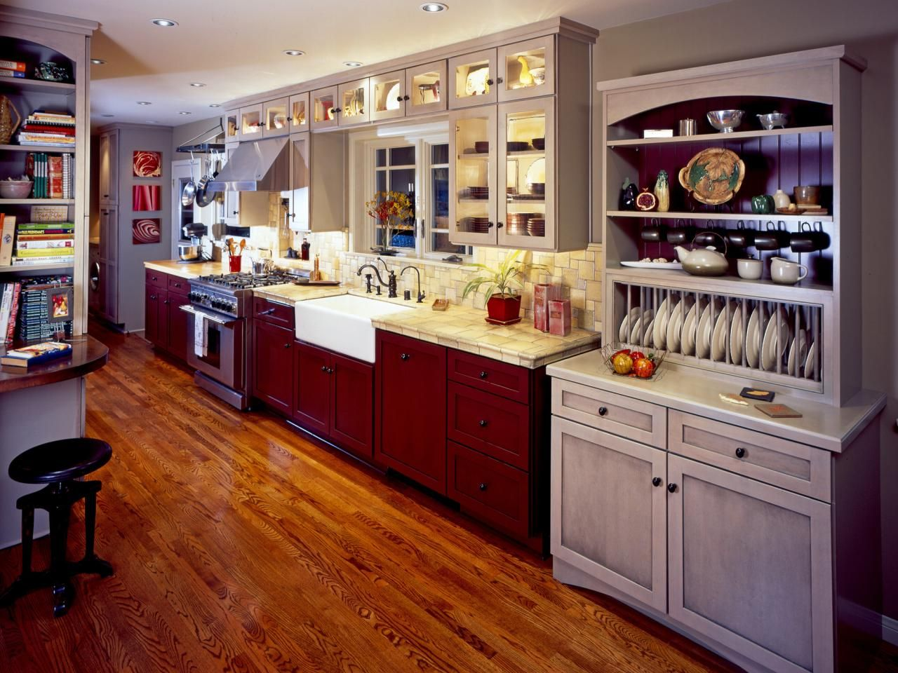top 6 kitchen layouts | loft spaces, space saver and corridor