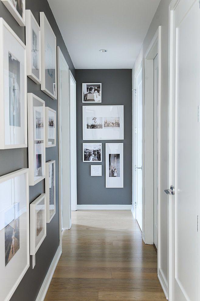 6 Idees Pour Amenager Un Couloir A Part Ca Idee Deco Couloir Couloir Gris Decorer Un Couloir