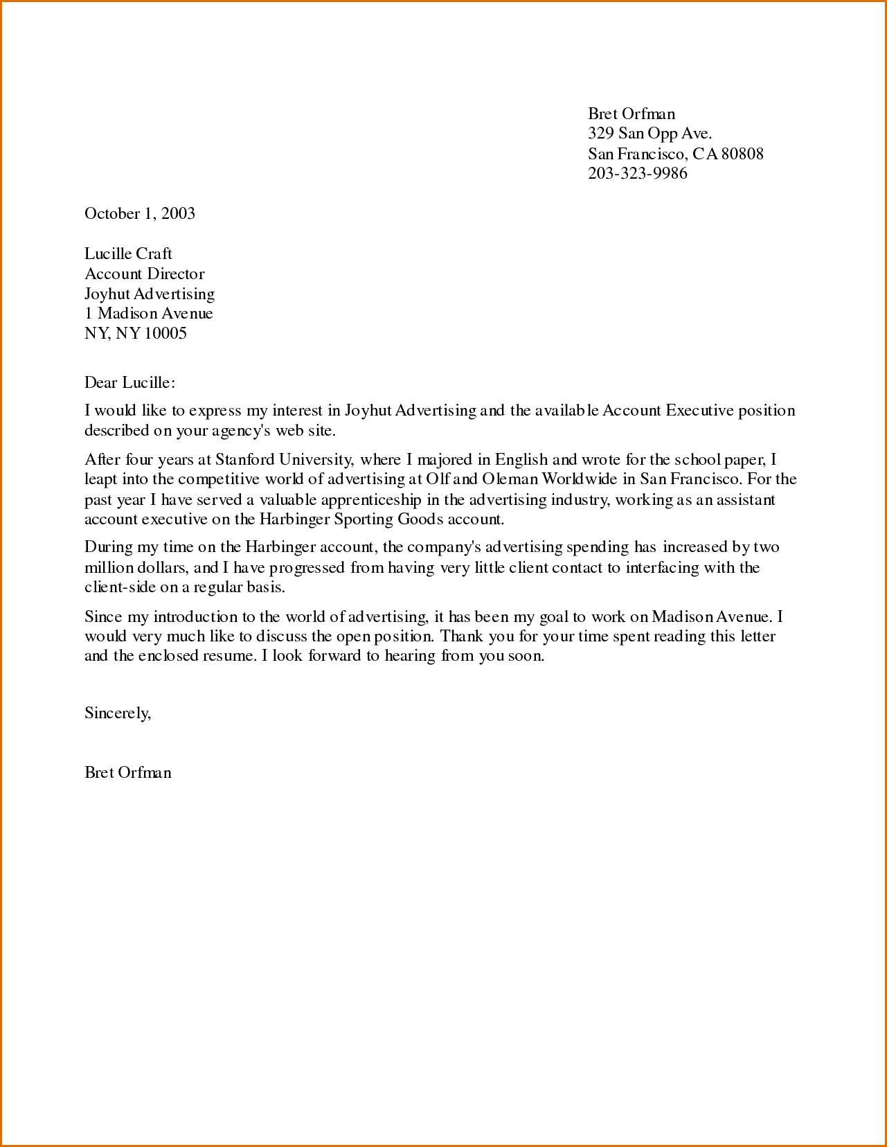 Start Of Cover Letter from i.pinimg.com