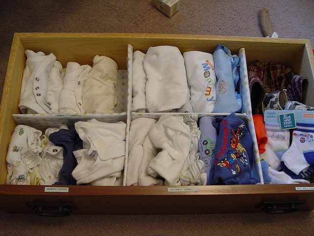 Do It Yourself Baby Clothes Organization Baby Clothes