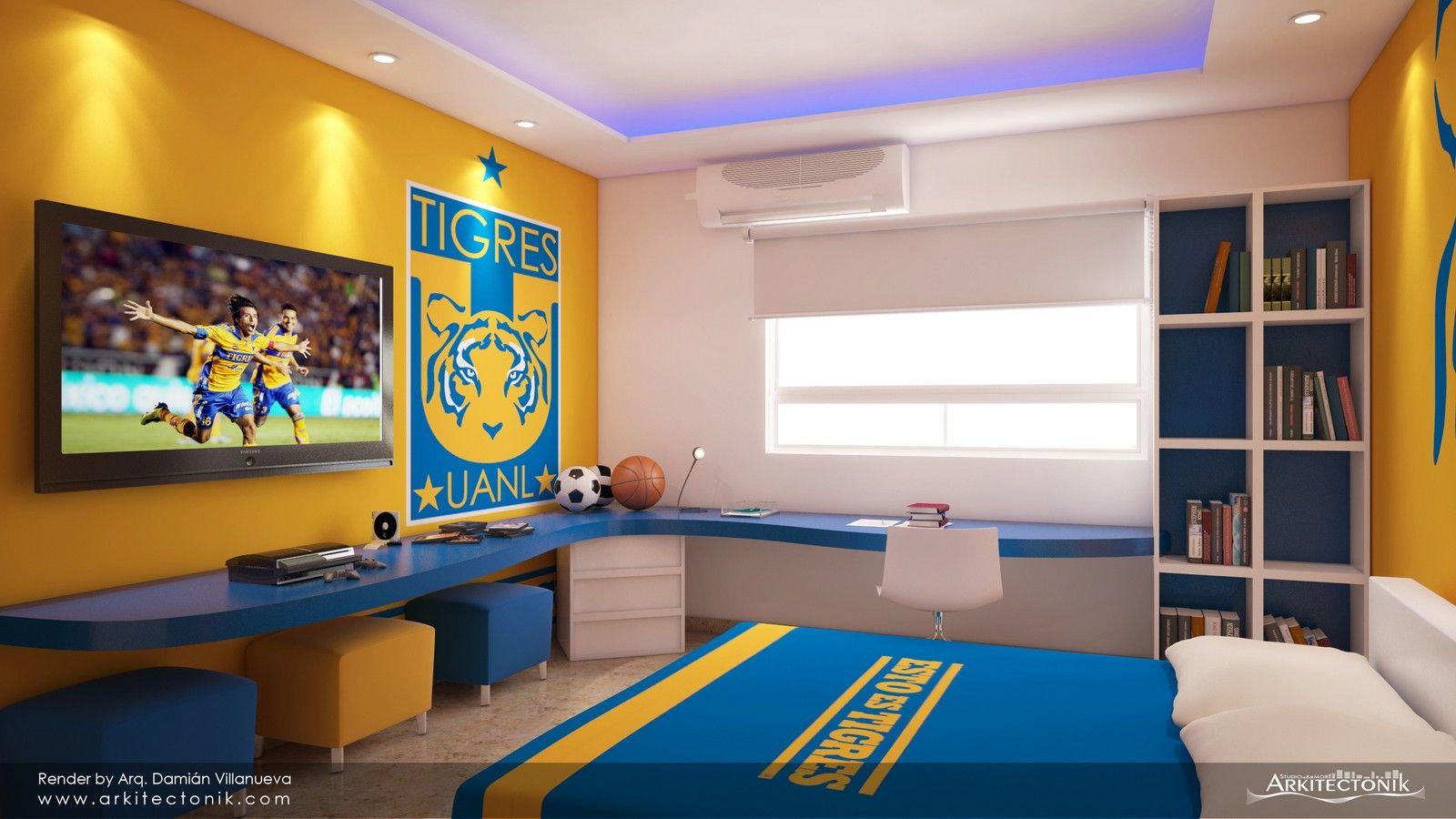 Una habitaci n bien tigre ideas de decoraci n para for Cuarto kit del america