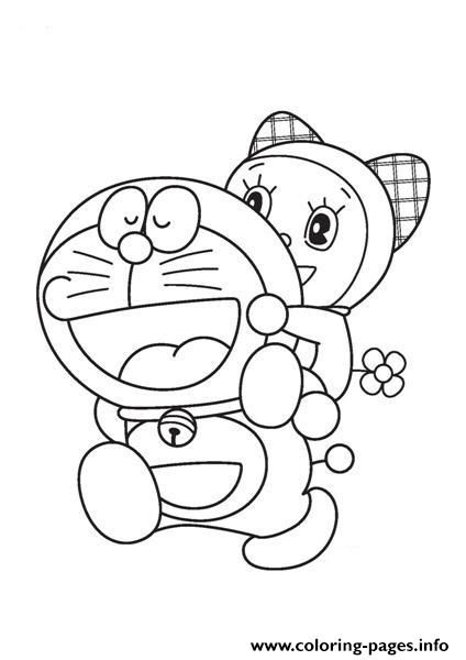 Print Doraemon And Dorami 8a71 Coloring Pages สม ดระบายส โดรา