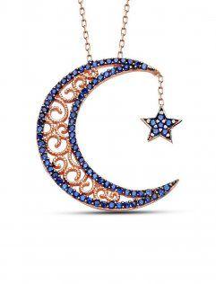 rams-gumus-57876-gece-mavisi-ay-yildiz-kolye-rose-