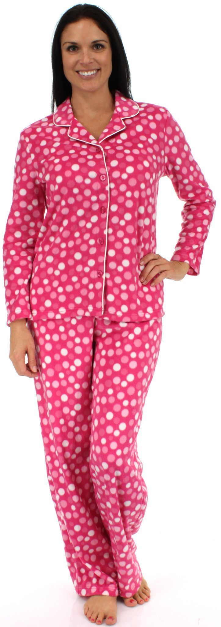 Karen Neuburger Women's Girlfriend Fleece Longsleeve Pajama