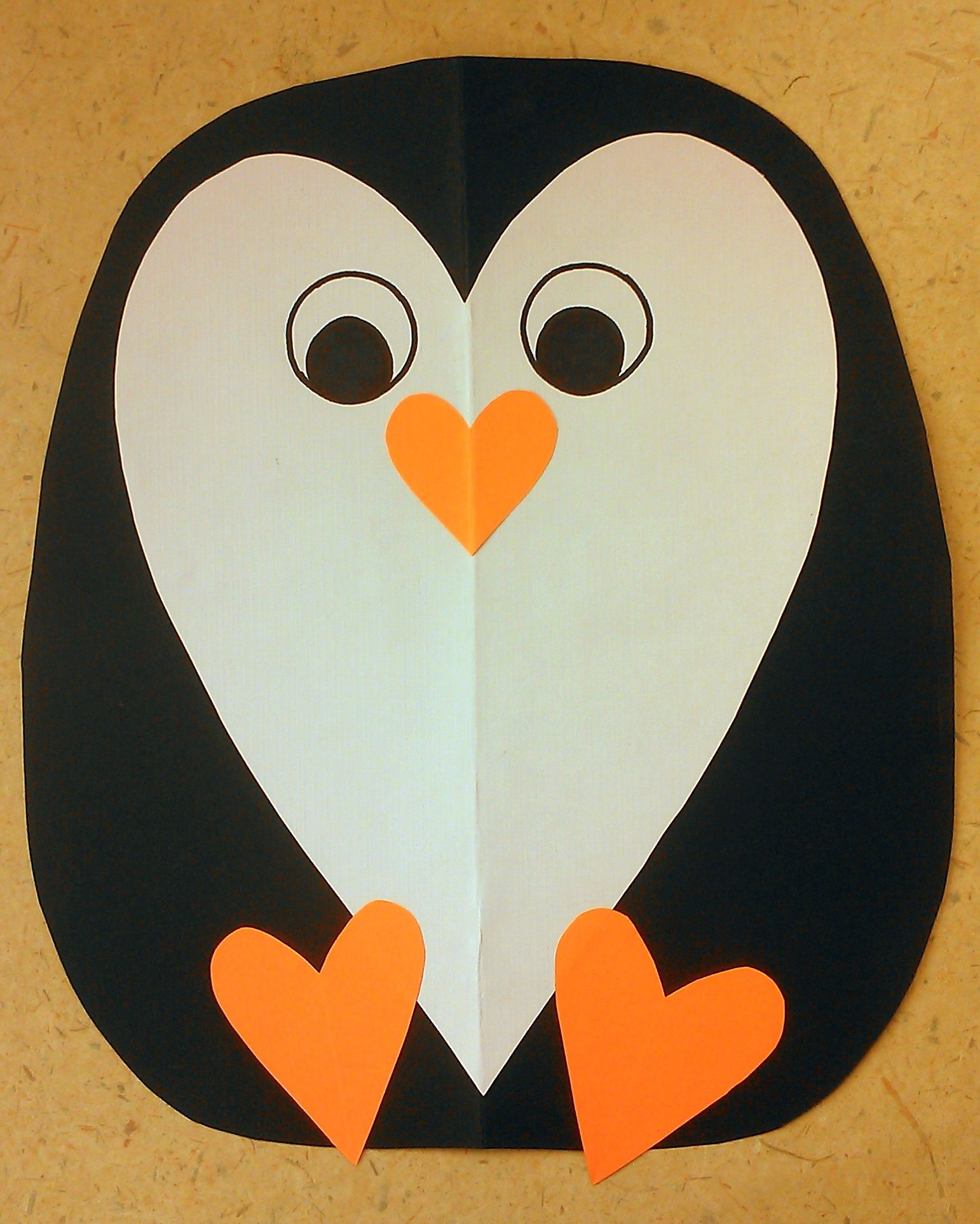 Penguin Craft For Toddlers