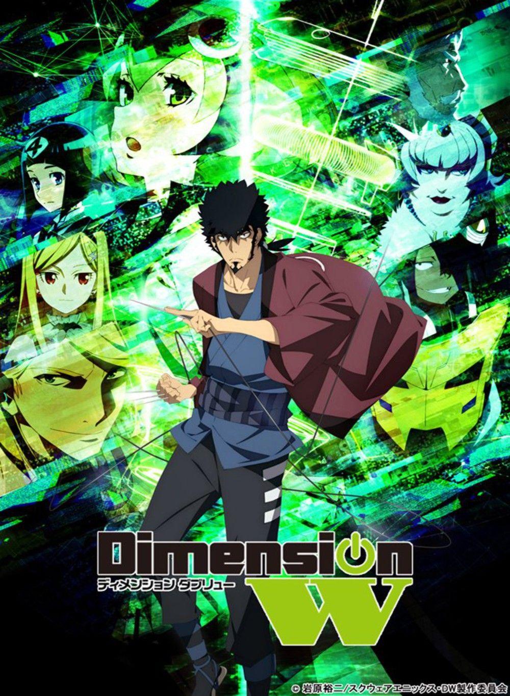 Dimension W Genres Action Sci Fi Seinen Anime Series