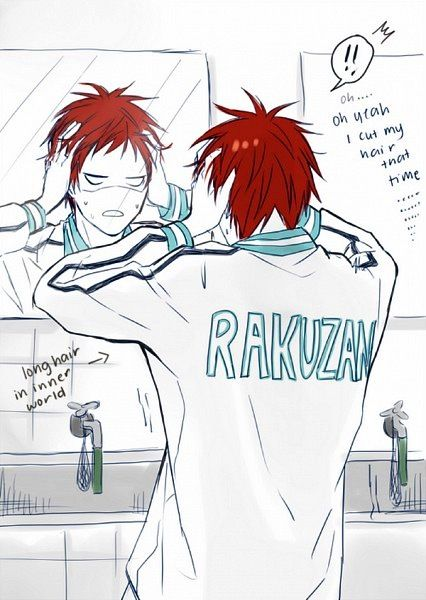 akashi- what else did i do.... *flashback* DRUG DEALING LIKE A BOSS GET IN THE CAR WITH A SHADY GUY LIKE A BOSS HIRE THT DIRTY LADY AT THE CORNER LIKE A BOSS DO HOTEL SURGERY LKE A BOSS. * back* akashi-...... i dont think i want to know.....
