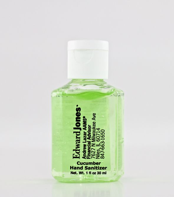 Sanell 1 Oz Cucumber Hand Sanitizer W Custom Imprint Hand